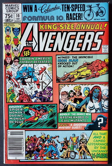 Avengers Annual 10 FN/VF Signed By Golden [1st Rogue]