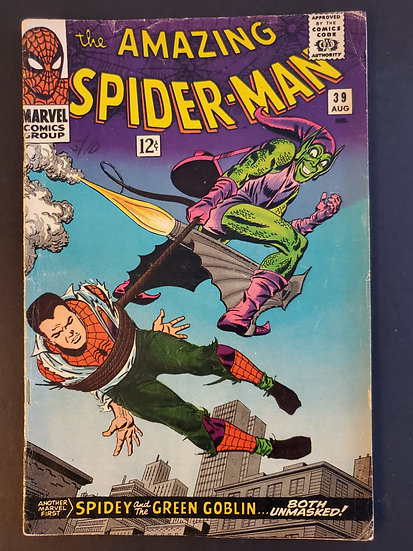 Amazing Spider-Man (Marvel) #39 VG