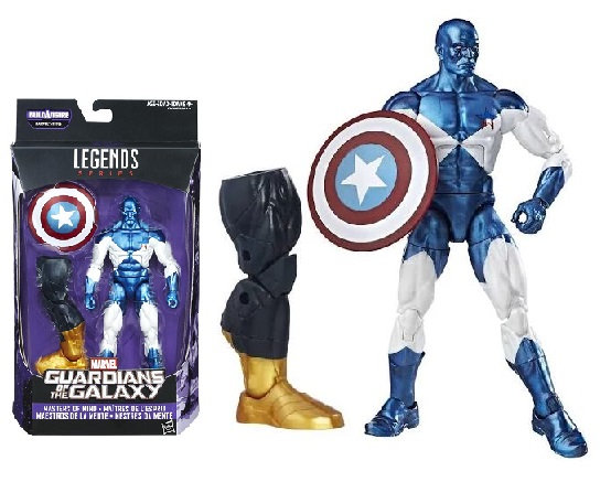 Marvel Legends Guardians Of The Galaxy Vance Astro Titus Build A Figure (BAF)