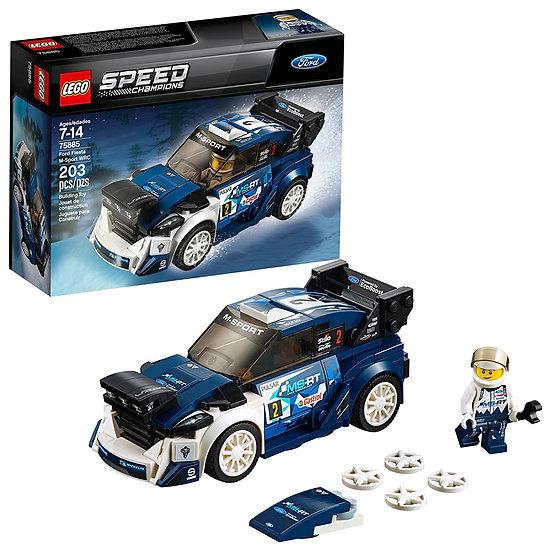 Lego Speed Champions Ford Fiesta M-Sport WRC 75885 building Toy