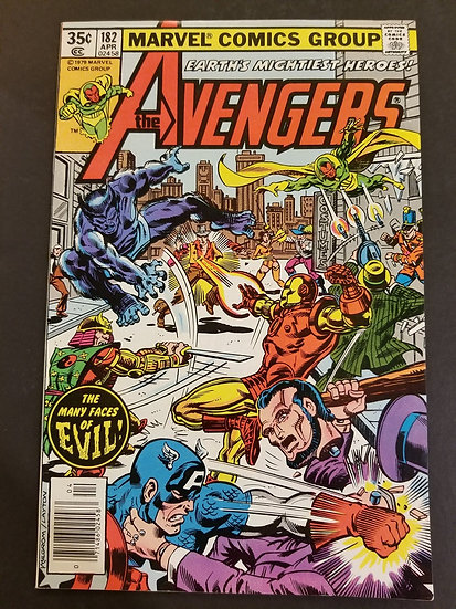 Avengers (1963 1st Series) #182 NM