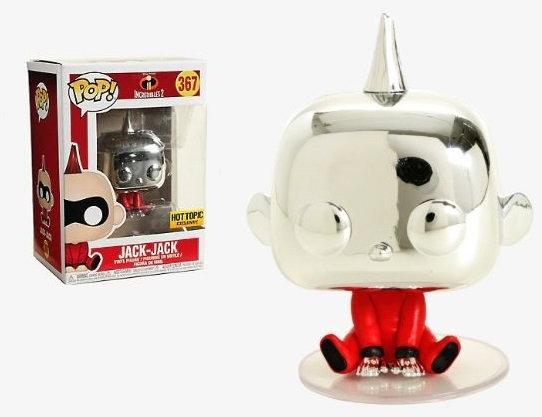 Incredibles 2 Jack-Jack 367 Hot Topic Exclusive