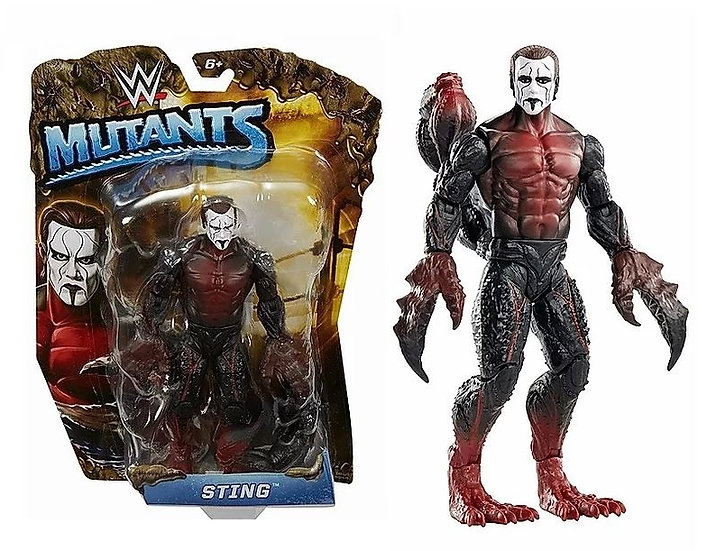 WWE Mutants Sting MOC by Mattel.