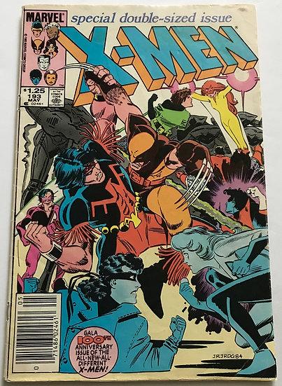 X-Men (Marvel) #193 VG [Newsstand]