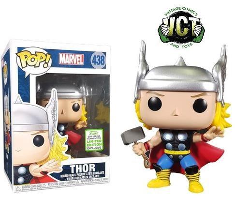 Funko Pop Marvel Thor 438 Emerald City Comic con 2019 Exclusive