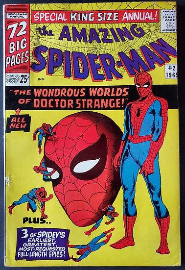 Amazing Spider-Man (Marvel) Annual #2 FN+