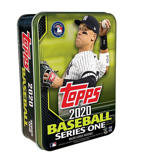 2020 Topps Series One MLB Baseball Walmart Exclusive Tin- 75 cards