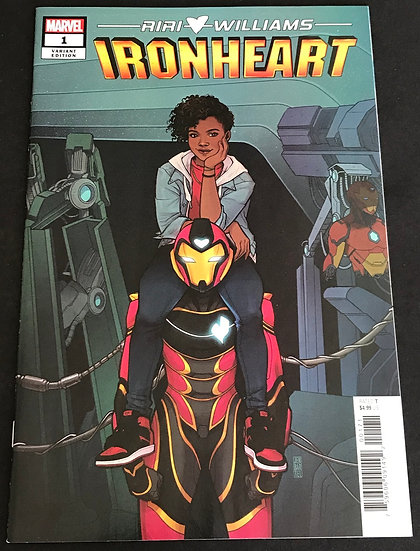 Ironheart (Marvel) #1 NM [Limited 1 for 50 Retailer Incentive Variant Cover]