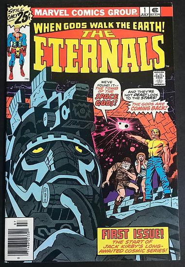 Eternals (1976 1st Series) #1 VF 1st Appearance of Eternals