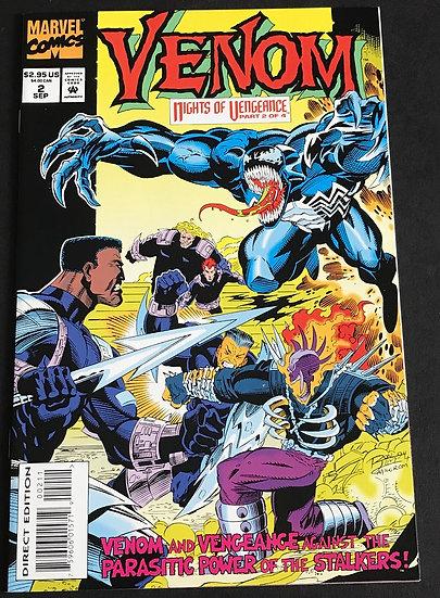 Venom Nights of Vengeance (Marvel) #2 NM