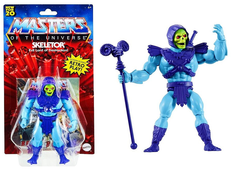 Masters Of The Universe Skeletor Evil Lord Of Destruction Action Figure