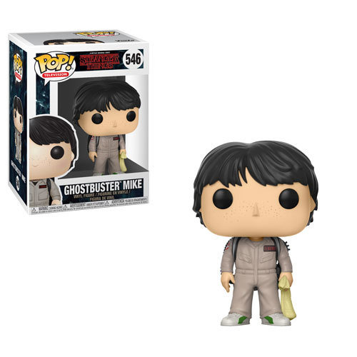 Funko Pop Stranger Things Ghostbuster Mike 546