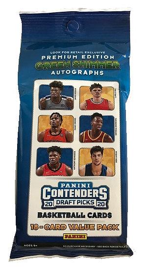2020/21 NBA Panini Contenders Draft Picks Cello Fat Pack
