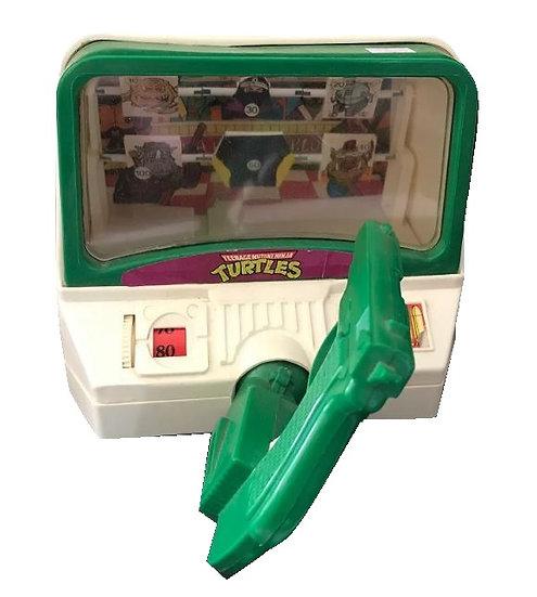 Vintage 1988 Teenage Mutant Ninja Turtles, shooting Gallery Action Game - Used