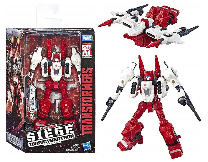 Transformers Generations War for Cybertron Trilogy 5.5 inch Autobot Sixgun