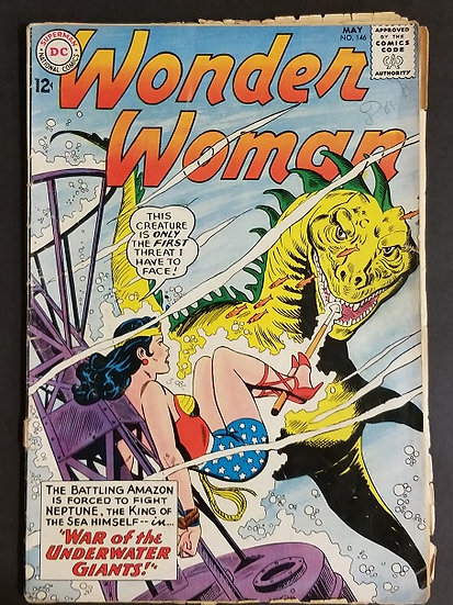 Wonder Woman (1942 1st Series DC) #146 GD [Barely Attached]
