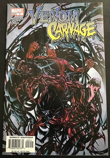 Venom vs. Carnage (2004) #2 NM