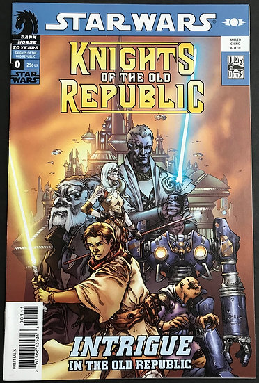 Star Wars Knights of the Old Republic/Rebellion (2006) #0 NM