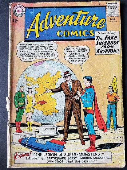 Adventure Comics (1938 1st Series) #309 VG-