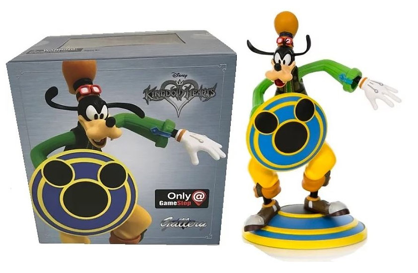 Kingdom Hearts Goofy Statue by Diamond Select Toy Exclusive