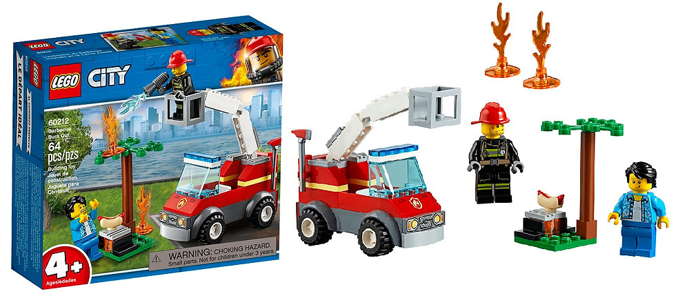 Lego Barbeque Burn Out 60212