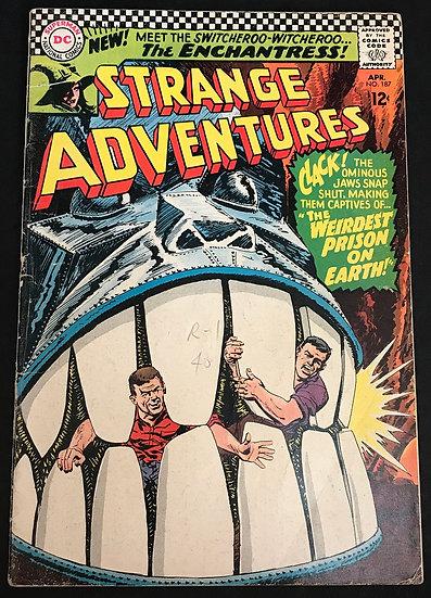 Strange Adventures (1950 1st Series) #187 VG+