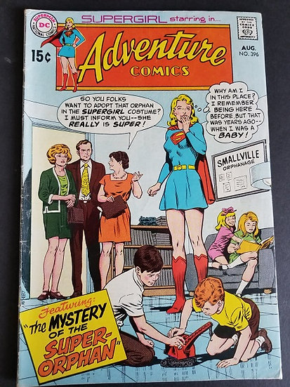 Adventure Comics #396 FN