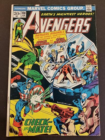 Avengers (1963 1st Series) #108 VF-