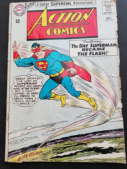 Action Comics #314 VG-