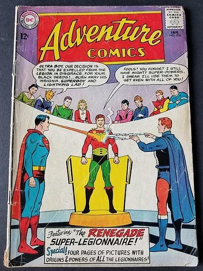 Adventure Comics 316 VG