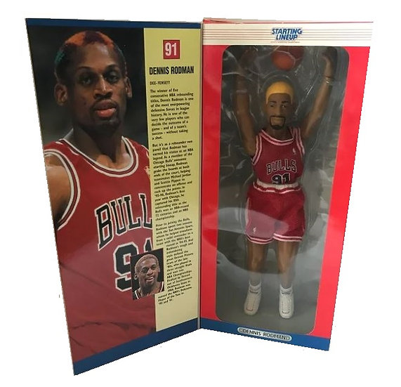 1997 Edition  Kenner Superstar Collectibles Dennis Rodman Poseable Figure