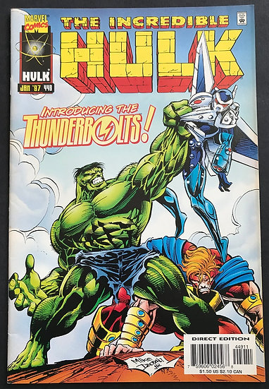 Incredible Hulk 449 VF+