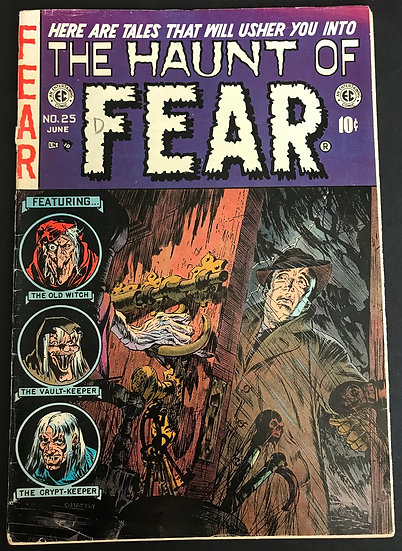 Haunt of Fear (1992 Gemstone) #25 VG+ [Top Stape Detached]