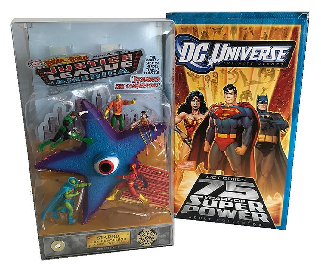 DC Universe Infinite Heroes 75 Years Of Super Power Adult Collector 6 Figure Set