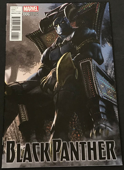 Black Panther (Marvel) #6 NM [Variant Cover]