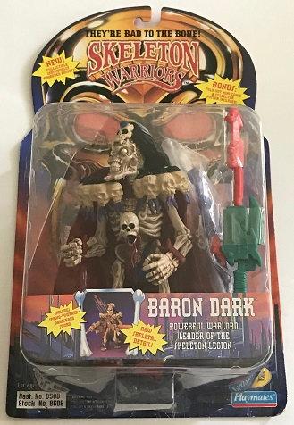 1994 Skeleton Warriors Baron Dark