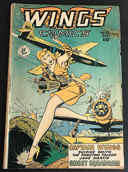 Wings Comics (1940) #96 GD/VG