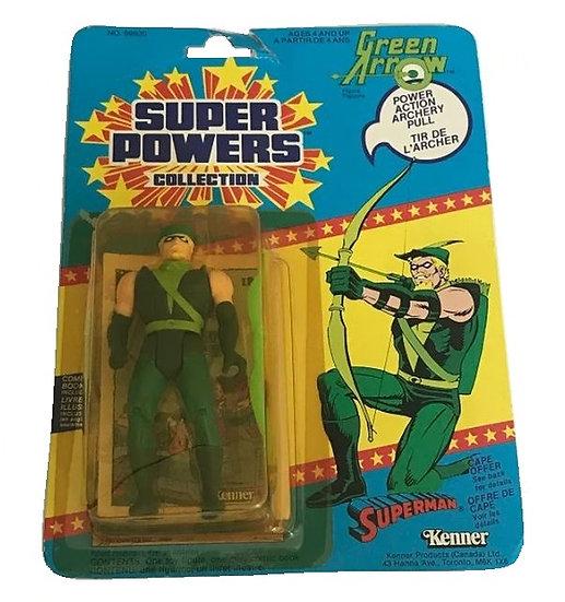 1985 Kenner Super Powers Green Arrow MOC.