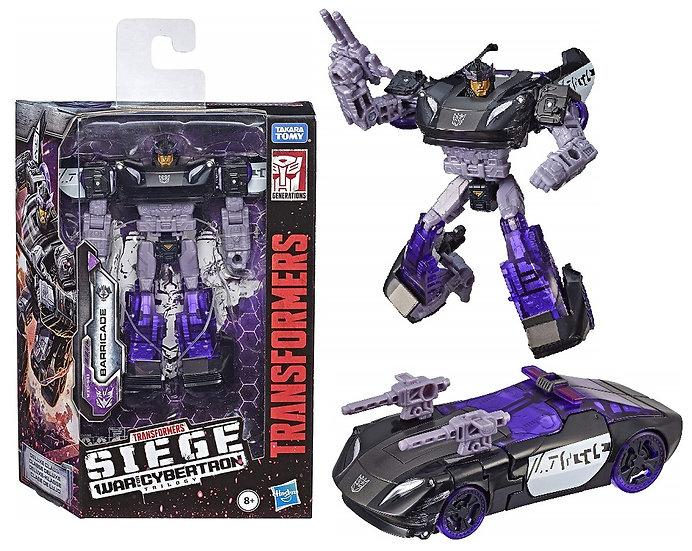 Transformers Generations War for Cybertron Trilogy 5.5 inch Barricade