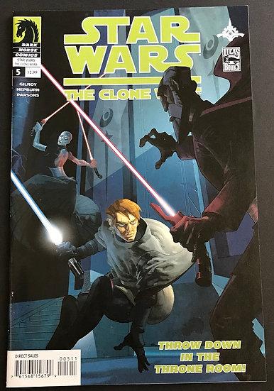 Star Wars Clone Wars (2008 Dark Horse) #5 VF/NM