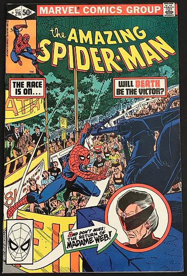 Amazing Spider-Man (1963 1st Series) #216 VF