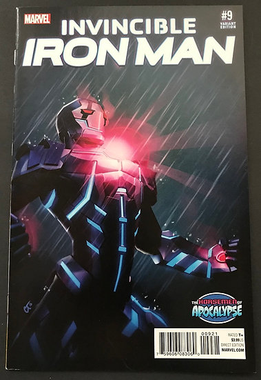 Invincible Iron Man (2015 2nd Series) #9B Variant VF/NM