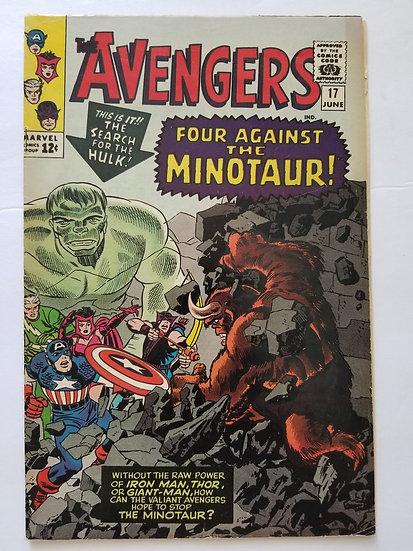 Avengers (1963 1st Series) #17 FN+