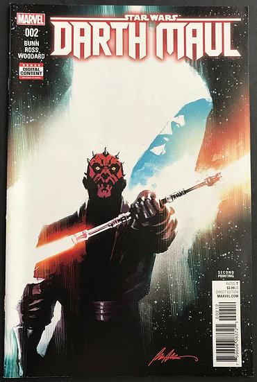 Star Wars Darth Maul (2017 Marvel) #2 NM