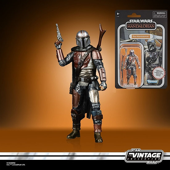 Star Wars The Mandalorian The Vintage Collection Carbonized Exclusive Figure