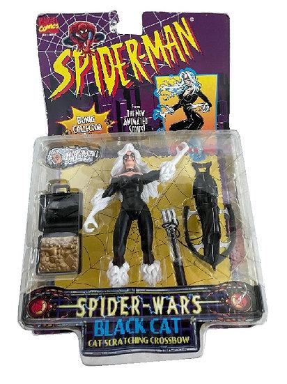 1996 Spider-Man Spider-Wars Black Cat Figure