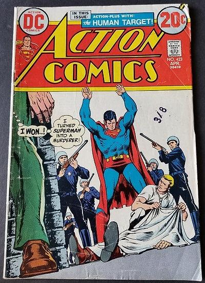 Action Comics (1938 DC) #423 VG+