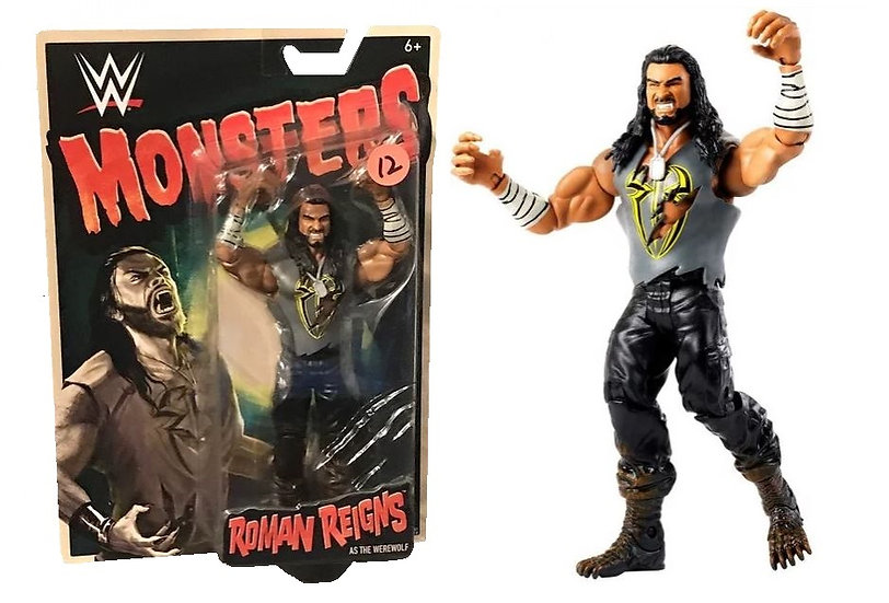 WWF Monsters Roman Reigns As The Werewolf