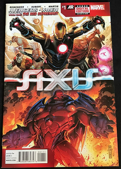 Avengers and X-Men Axis (Marvel) #1 VF