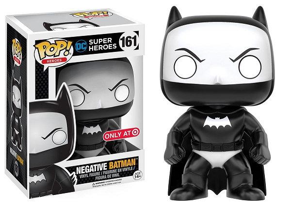 DC Super Heroes Negative Batman 161 Target Exclusive